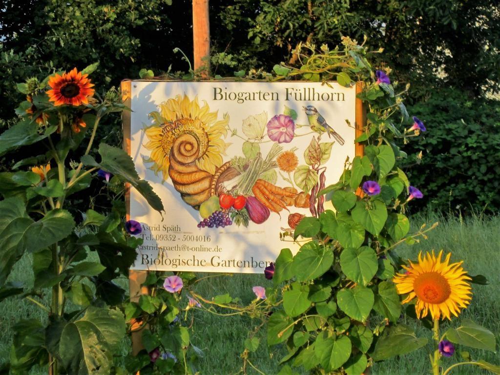Herzlich Willkommen im Biogarten Füllhorn
