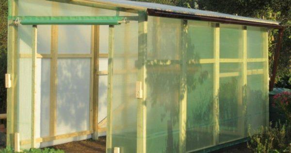 Das neue Tomatenhaus